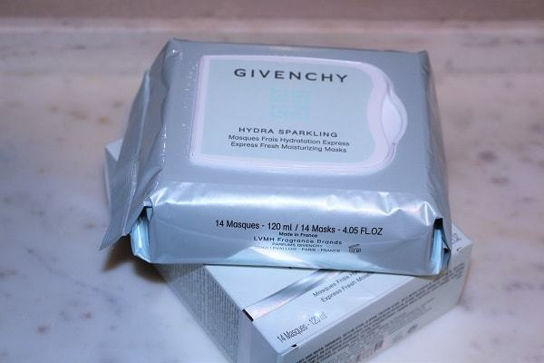 Givenchy Express Fresh Masks Review