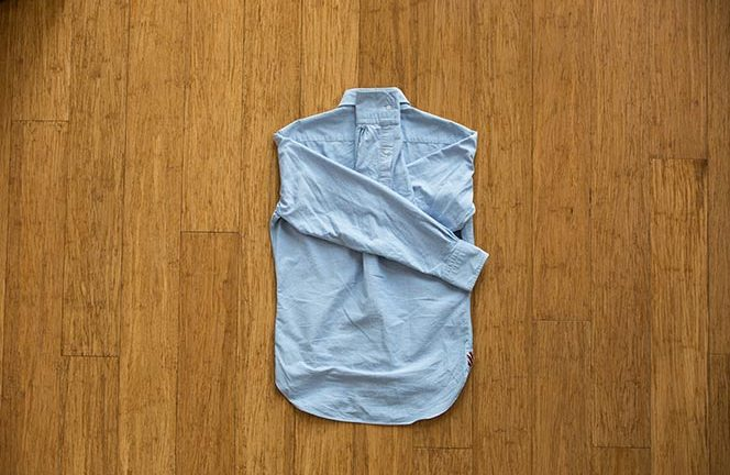 How To Pack Dress Shirt