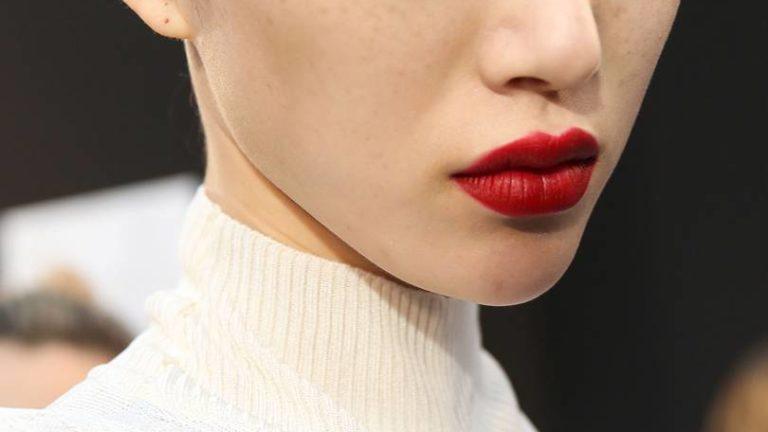 Get this season's must-wear statement lip