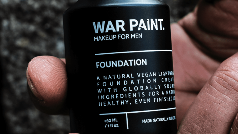 "War Paint, a ""Makeup Brand for Men,"" Is Getting Ripped"